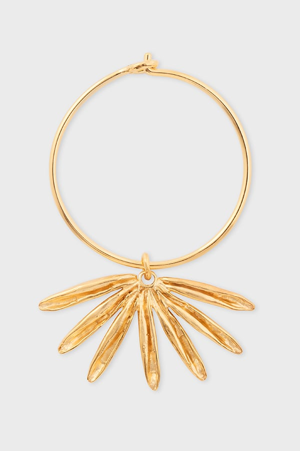 Sun Siren Hoop Gold – € 98