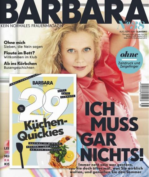 Barbara, Juli 2019