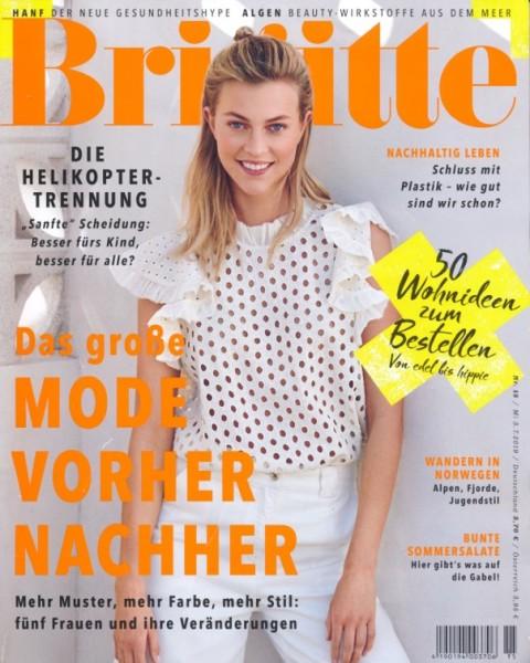 Brigitte, Juli 2019