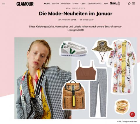 Glamour, Januar 2019
