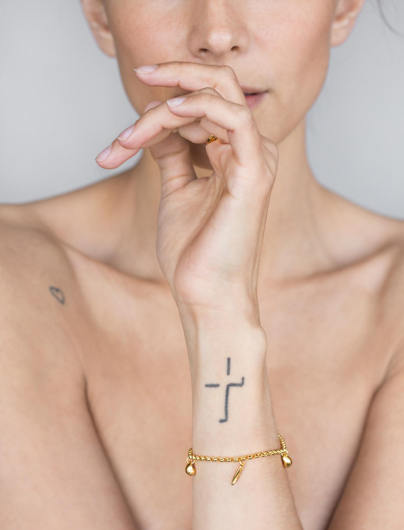 Minni's Bombshells Bracelet Gold