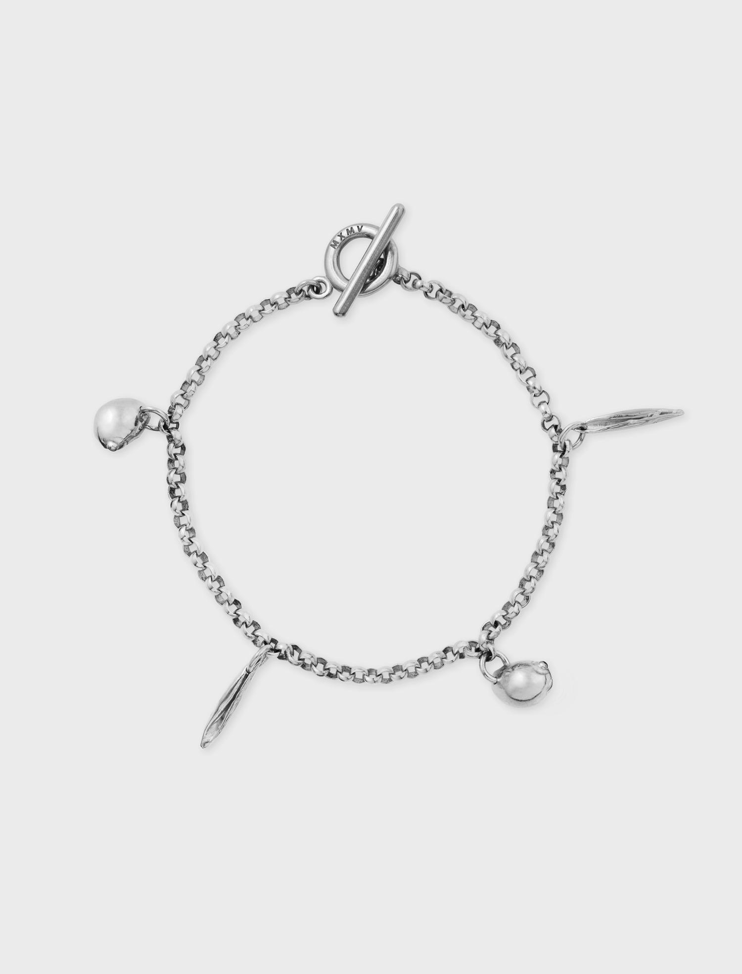 Minni's Bombshells Bracelet Silver