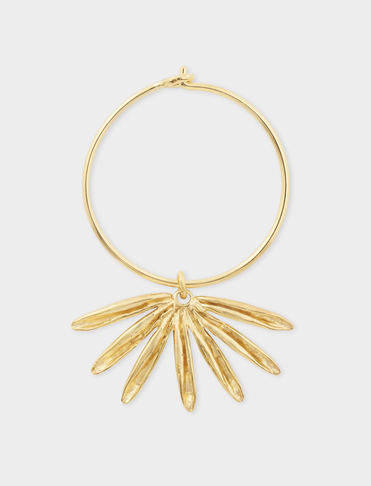 Sun Siren Hoop Gold